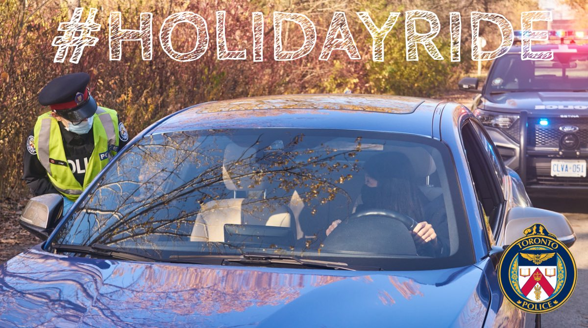 The @TorontoPolice continue to clamp down on impaired driving over the holiday season as part of the annual #HolidayRIDE program. For more info visit tpsnews.ca/stories/2020/1… @JamesRamerTPS @TPScott_Baptist @OACPOfficial @CACP_ACCP