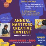 Image for the Tweet beginning: The Annual Hartford Creative Contest