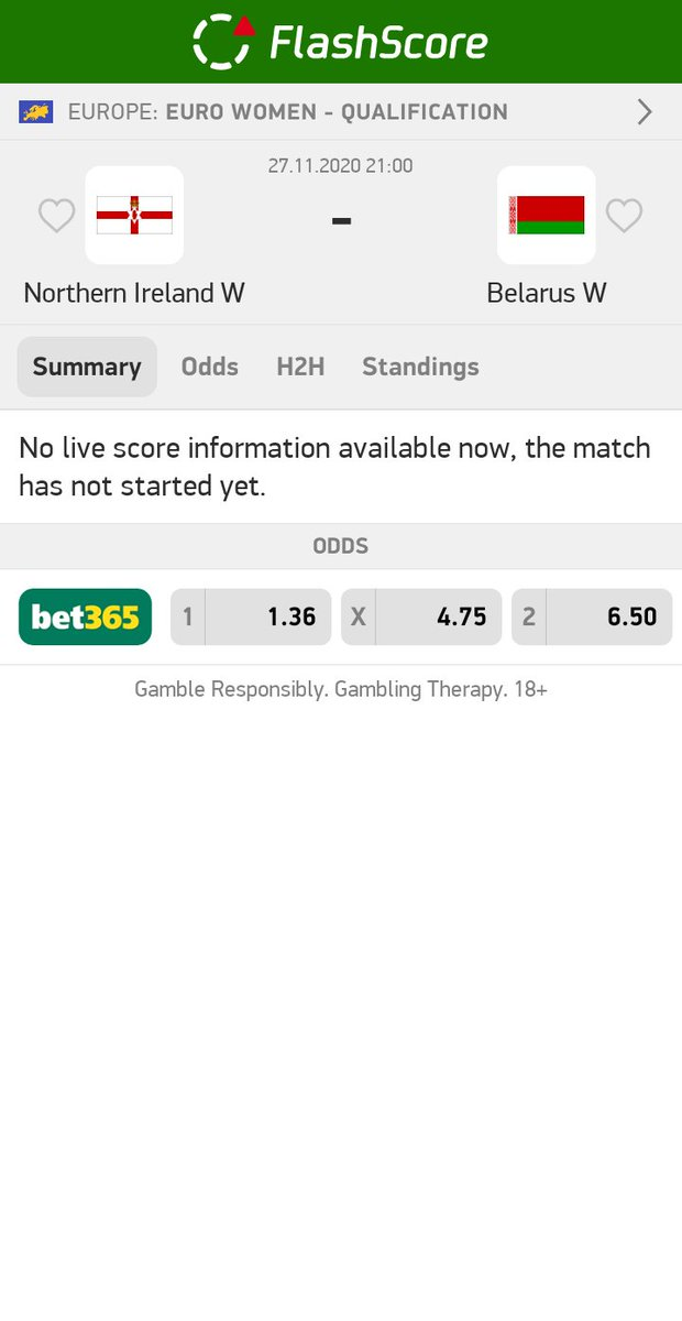 Northern Ireland W - Belarus W  OVER 2,5 #goals @ 2,10   #betting #bet #bettingtips #sportsbetting #bettingexpert #football #tipster #gambling #money #soccer #bettingsports #sports #tips #bettingtipster #livebet #InPlay  #UCL #UEL #EFL  More info: