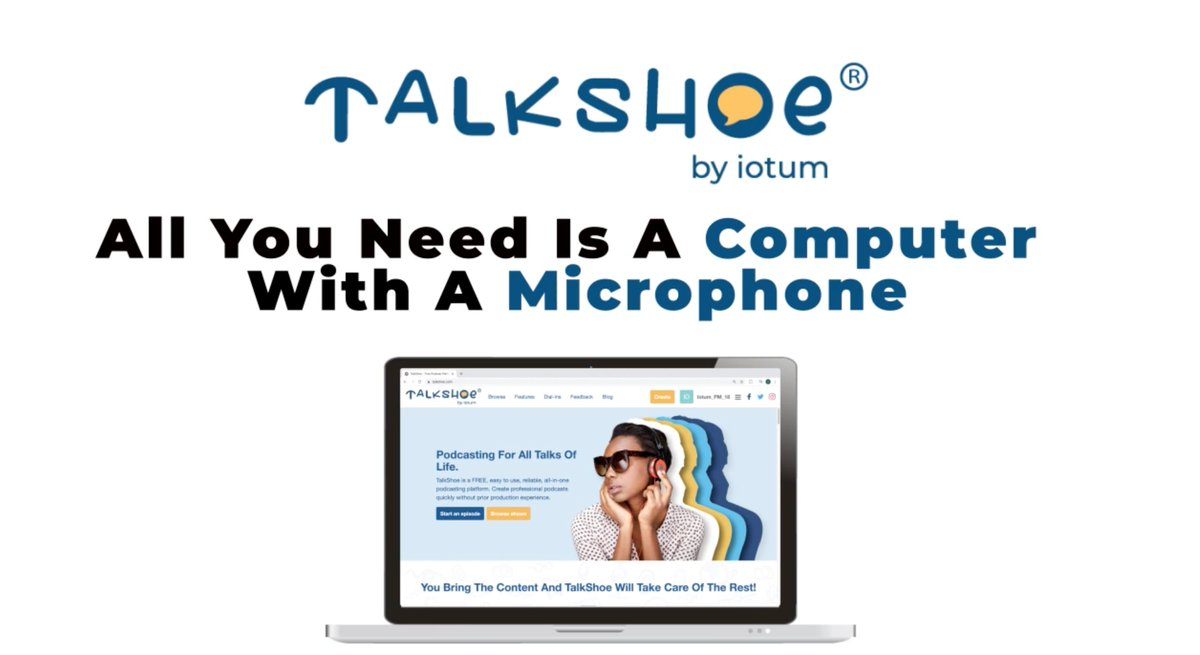 """Try TalkShoe's #FREE online podcasting #studio today! Visit our, """"Start Podcasting For Free Right From Your Computer"""" page here: https://t.co/EEBoPWsa5q  #podcast #podcastlife #WFH #podcaster #podcasting #podcastlife #podcasts #podcastaddict #DIY #Production https://t.co/vT9k8xGtbP"""