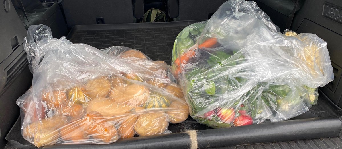 Couldn't agree more. We have #csa's from Fair Weather Growers in Wethersfield and Karabin Farms in New Britain/Southington. This was the veg haul for JUST the week of Thanksgiving from Fair Weather growers, could last a month!