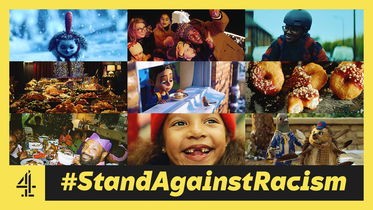 Christmas is a time to come together. This year, we're coming together with @AldiUK @asda @coopuk @IcelandFoods @LidlGB @marksandspencer @sainsburys @Tesco & @waitrose to stand against racism. If you're not into that kind of thing, feel free to unfollow. #StandAgainstRacism #Ad https://t.co/EwKw3fdwHr