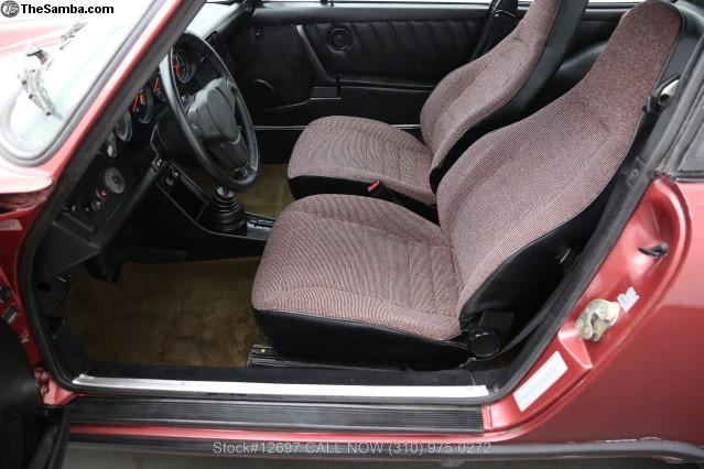 Yours for around £25,500 at asking - 1981 -Porsche 911SC Coupe.....  About £1600 ish to ship it from Cali.