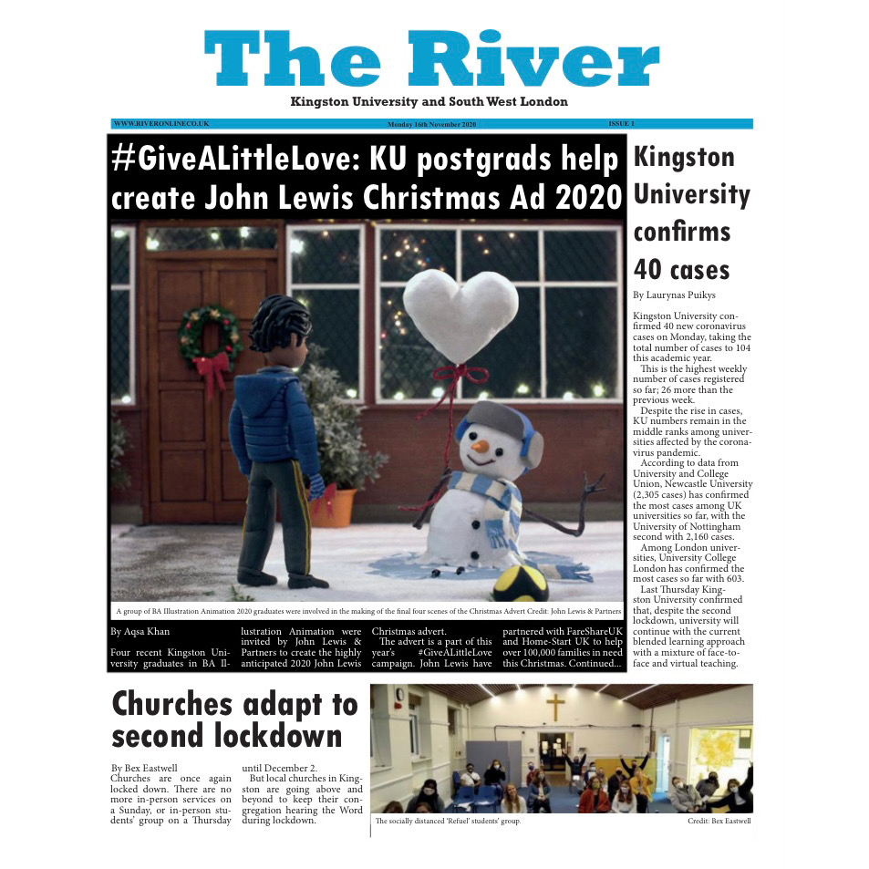 Our new issue is out now! Thank you for trusting us with your stories 💙 Please give it a read: https://t.co/JRw8FDhIiL  - The River team   #TheRiver #KingstonUponThames https://t.co/4Ii9Ublnjr