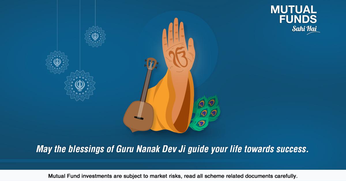 Celebrate the auspicious occasion of Guru Nanak's birth anniversary by embracing his holy teachings. #GuruNanakJayanti