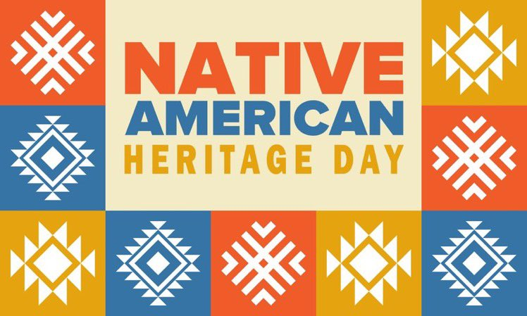 Today we give thanks to our Indigenous communities and their ancestors.   Happy #NativeAmericanHeritageDay!