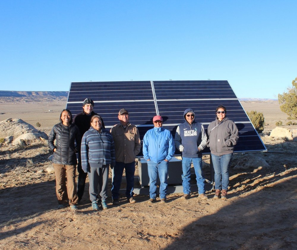 In honor of #NativeAmericanHeritageDay please check out this organization that's working to bring #renewableenergy to Tribal Lands.  #solar #NativeRenewables