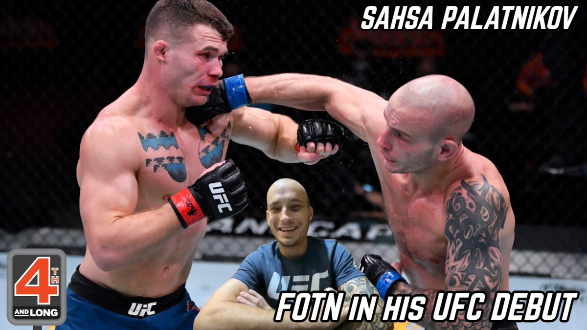 🚨Our interview with #UFC fighter Sasha Palatnikov (@PalatnikovMMA) has dropped🚨  -First UFC fighter from Hong Kong🇭🇰  -FOTN bonus in his debut at #UFC255💰  -Called out Mike Perry👀  An amazing person that you need to hear from!  #Spotify:   #MMATwitter