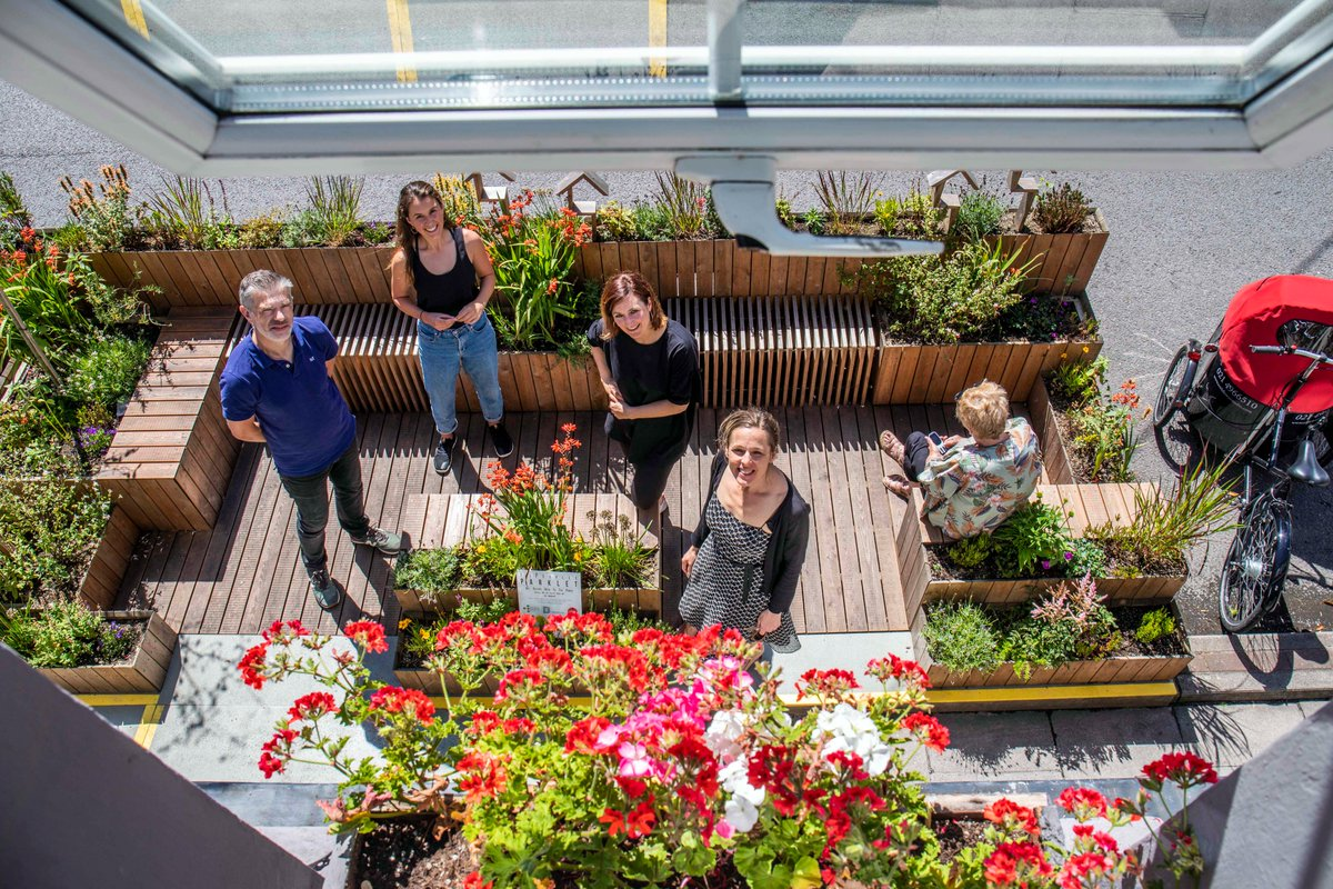 🏞️Cork City Council reveals locations for 10 new neighbourhood parklets!🏞️  Huge thanks to @BenchspaceCork who are busy creating our parklets & all the wonderful businesses owners, community & voluntary groups who have signed up to be parklet partners!  👉https://t.co/DfPFMG9HqM https://t.co/MAk9D44veZ