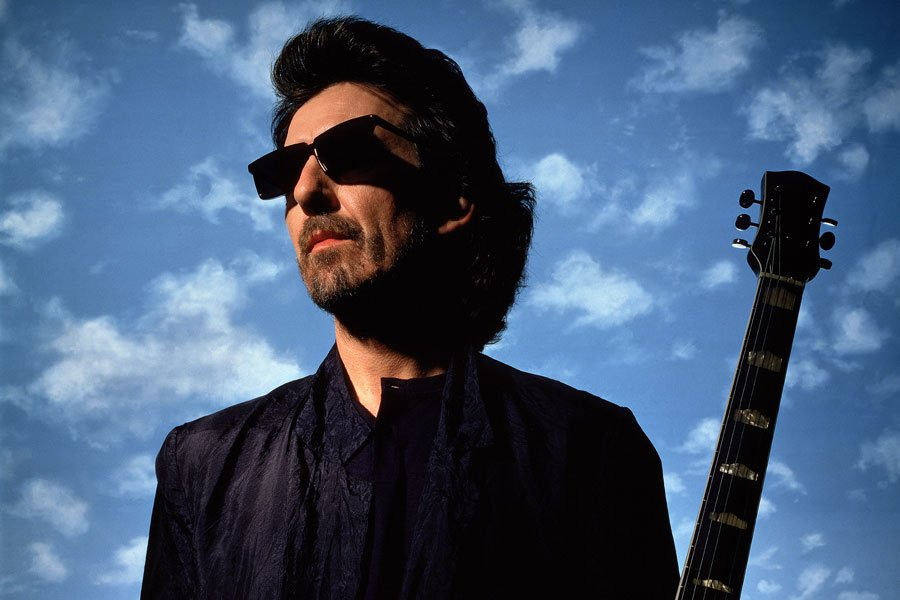 On this day in 2001, George Harrison died at Paul McCartney's home in Los Angeles, at age 58.