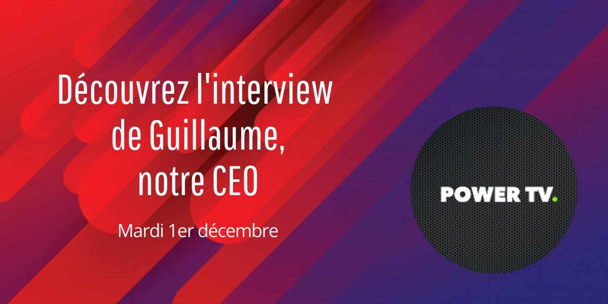 🤓📽 RDV mardi 1er décembre sur Power TV by @magazinetesla pour découvrir l'interview de Guillaume, notre CEO ! On parlera de #LaBelleBatterie et d'#Antilope  👉