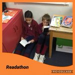 We spent the entire day reading today for the #readathon @ReadforGoodUK. So impressed by everyone's focus, participation and generous contributions! Thank you #sponsoredread #ReadingforPleasure