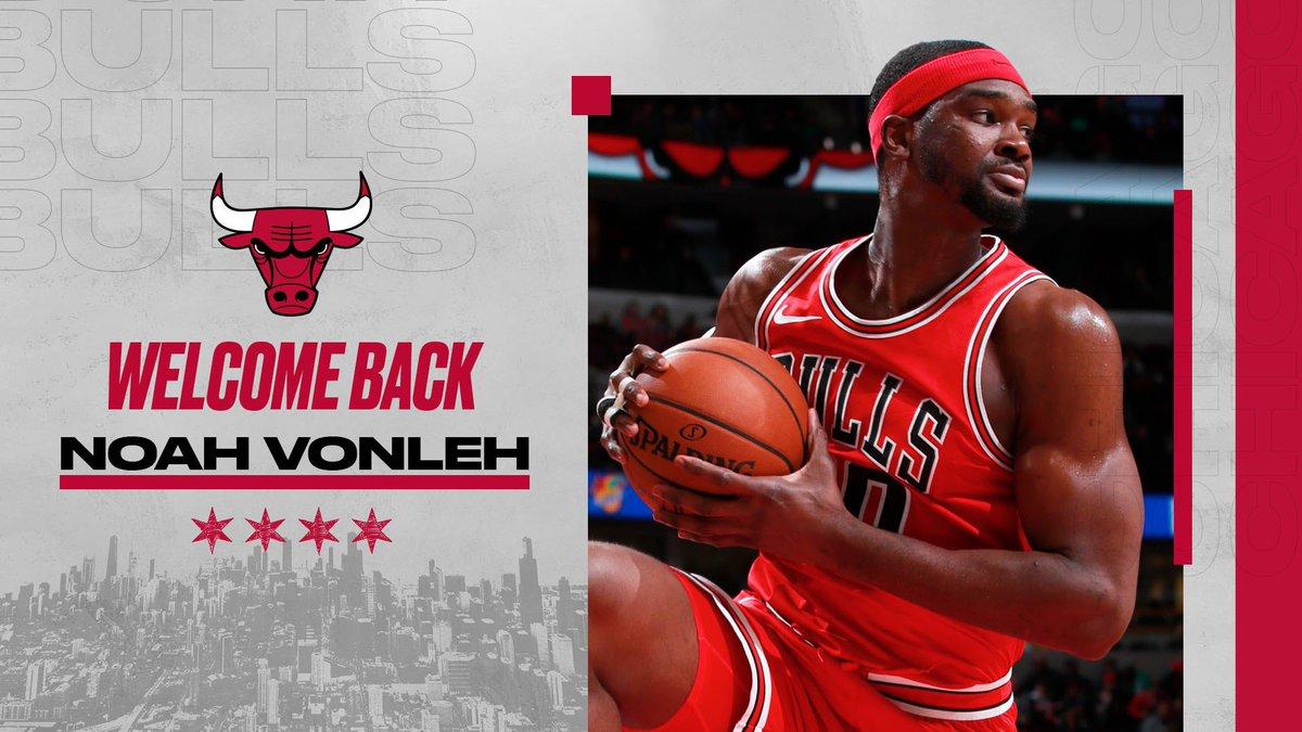 We have signed forward Noah Vonleh.  Welcome back, Noah!