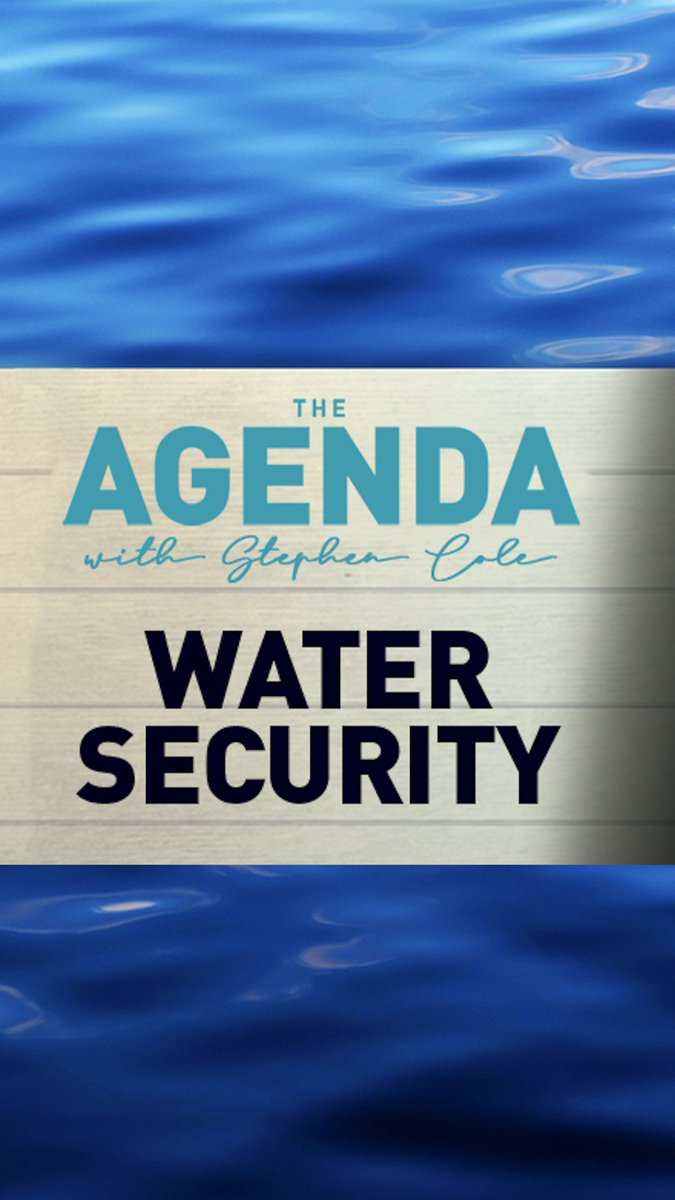 💧 Not enough in one country – too much in another, water theft and especially poor sanitation. So just what is the true scale of the water crisis?   cole_stephen explains on #TheAgenda this week 📺 SAT: 16:30 GMT 👇