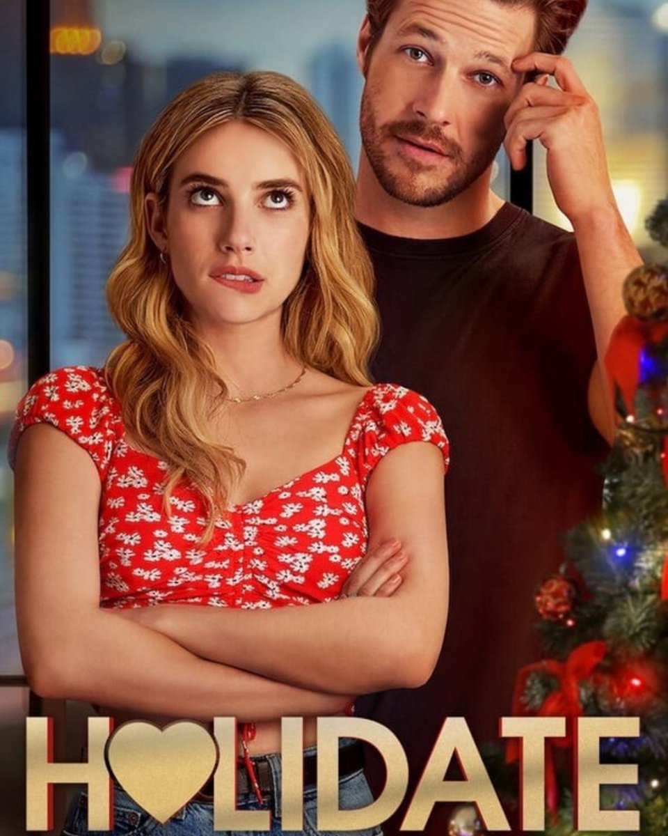 Next week we're kicking off the festive season with some more modern Christmas Movies! #Holidate is just the gateway we needed