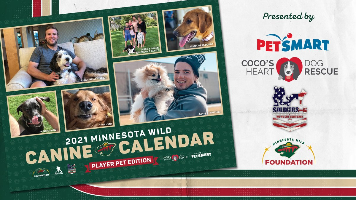 Barking news: The 2021 #mnwild Canine Calendar is available now! 🐶  Order online » https://t.co/LsLquGcyXi https://t.co/7j9uNU07jo