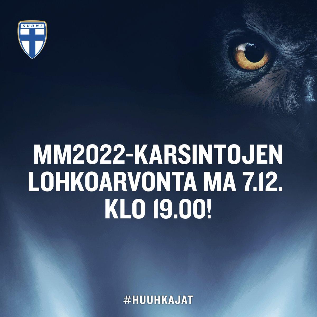 Kohti MM2022-karsintojen lohkoarvontaa! 🦉⚽ | Suomi nousi torstaina julkaistussa FIFA-rankingissa sijalle 5️⃣4️⃣ ja samalla MM2022-karsintojen lohkoarvonnan 3. arvontakoriin!  Katso arvontakorit ja aloita spekulointi! 😏💬 ➡   #Huuhkajat #WCQ #MeOlemmeSuomi
