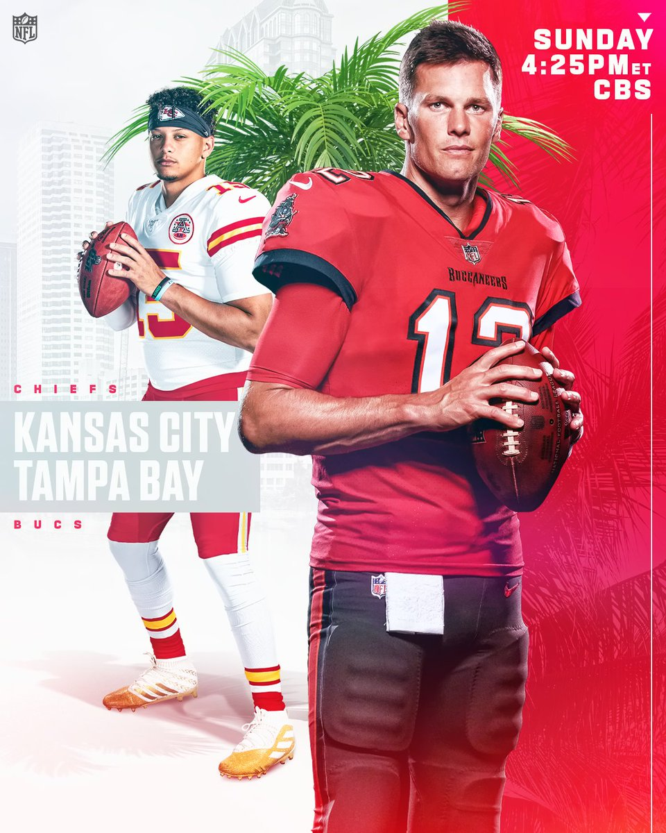 Mahomes vs. Brady Part IV  #ChiefsKingdom | #GoBucs   📺: #KCvsTB -- Sunday 4:25pm ET on CBS 📱: NFL app // Yahoo Sports app
