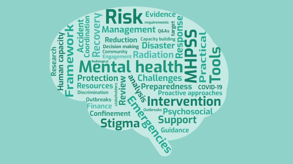 Given the long-term impact of radiological & nuclear emergencies, support should address both short-term and long-term needs for: ✅ #MentalHealth & psychosocial well-being ✅ social cohesion activities ✅ clinical services  👉