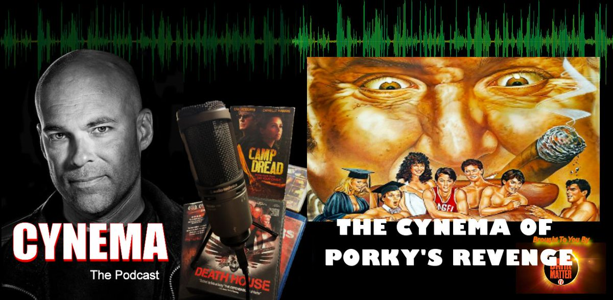 """A reminder that EP 73 of my #Cynema #podcast drops tomorrow night, early #SundayMorning A look this time at the cynicism of """"Porky's Revenge"""" and when a studio doesn't even try. But..was there a high bar in the first place? @Strangepodnet @thedorkening @darkmattertv2"""