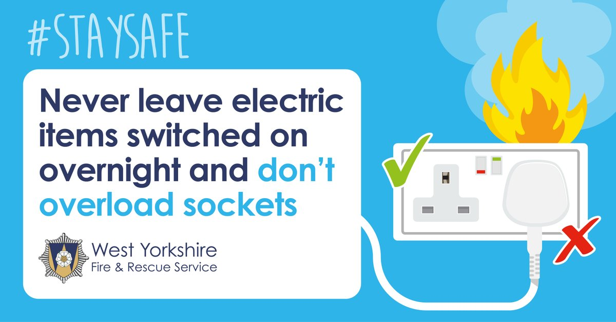 🔌Working from home & got some extra electrical devices that need to be plugged in? ⚡ Be extra careful to never overload your sockets or extension leads. ⚡ Heres how to check whether your sockets are safe buff.ly/2rvQF7m @ElecSafetyFirst