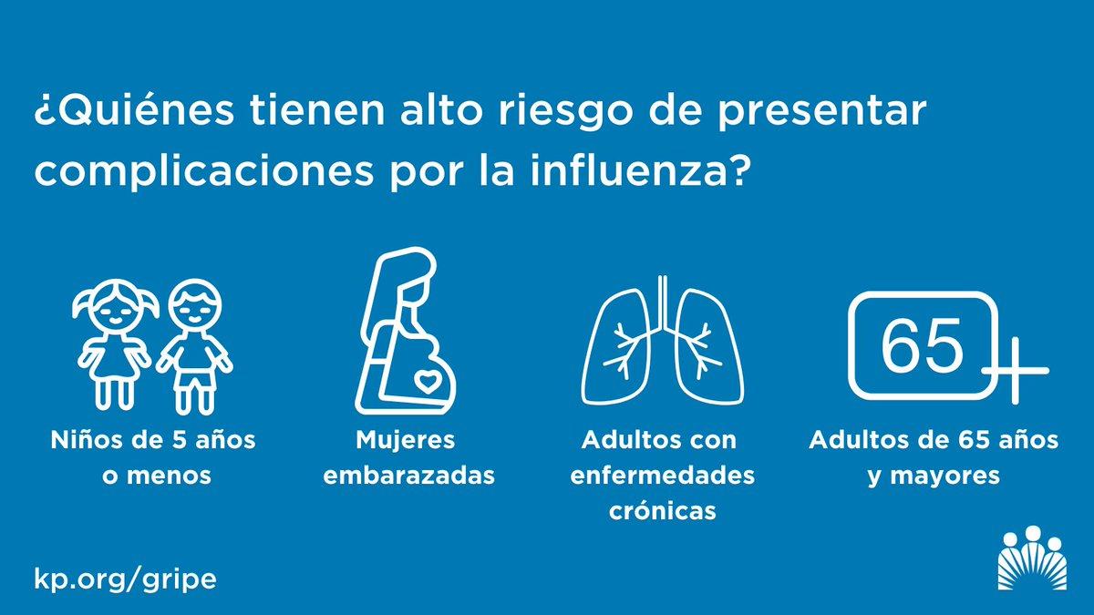 No contagies a tus seres queridos con la gripe. Si vives o cuidas a personas con alto riesgo de complicaciones de la gripe, es importante vacunarte contra ella.