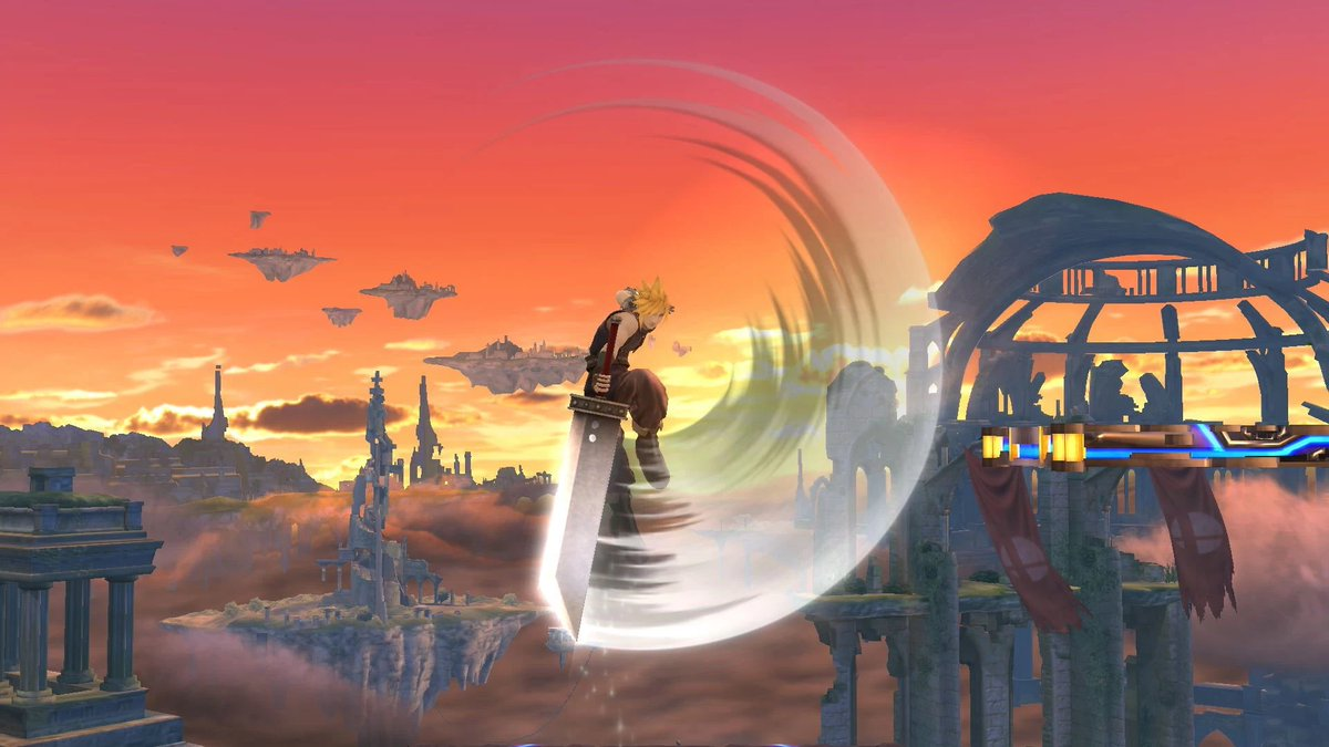 ESAM - Yall rly thought it was smash4 cloud nair LOL THATS HOW PRIVILEGED THIS CHARACTER WAS  ITS LIKE 2X THE SIZE  cloud nair is still good thanks for coming to my ted talk