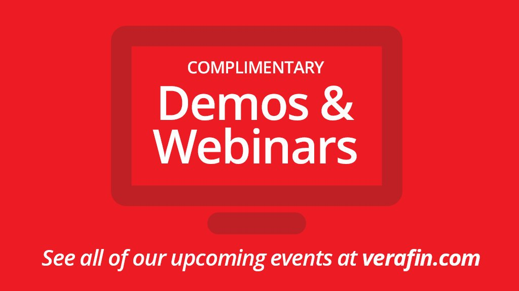 [Upcoming Events] Check out our demos and webinars featuring a wide range of industry hot topics, including fraud detection & management, high-risk customer identification, BSA/AML compliance, and more. https://t.co/ZrK8uB9a4n https://t.co/KmLwIdzbfU