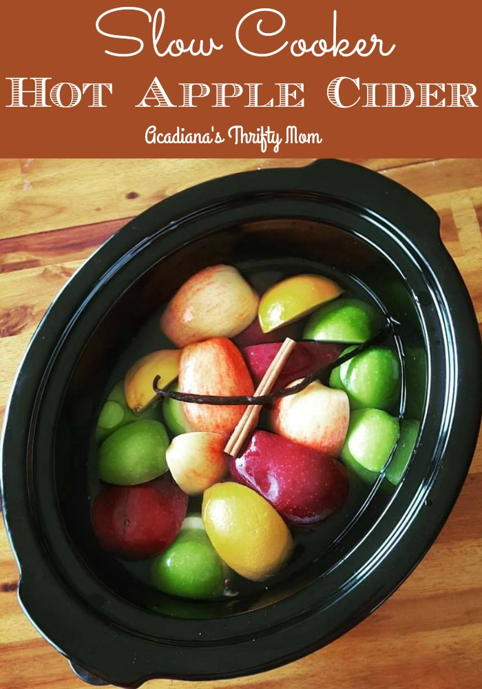 Slow Cooker Hot Apple Cider #slowcooker #apples #applecider #hot #homemade #recipe #Louisiana #Lafayette #Acadiana  #christmas #thanksgiving  https://t.co/Hqf6dYk2DZ https://t.co/Pu122UZvcU