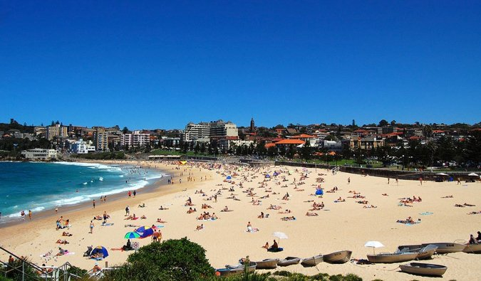If it's a beach you want while visiting Sydney, look into staying here. #Australia #accommodations