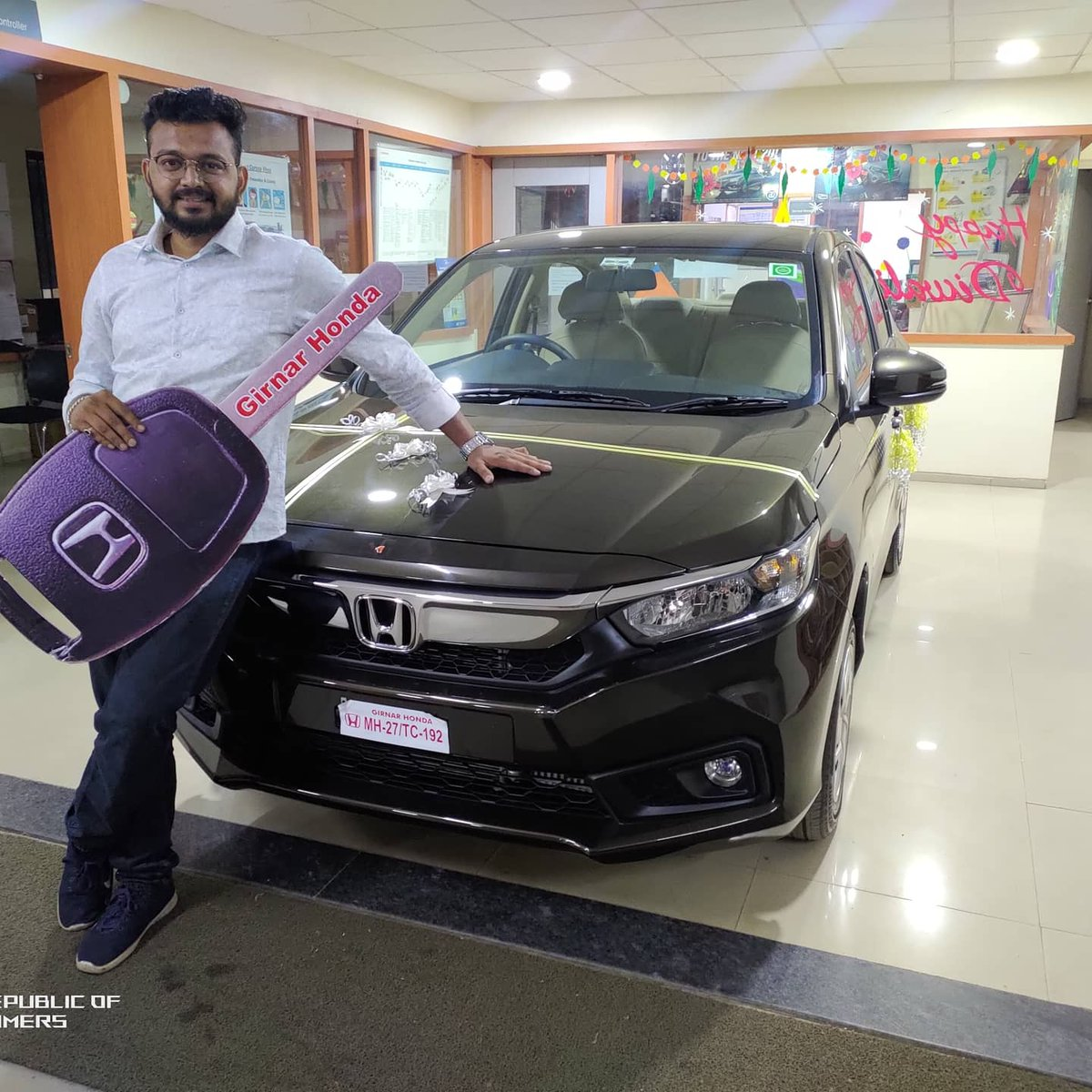 Thank you @HondaCarIndia for this fabulous Special edition #Honda #Amaze #specialedition https://t.co/gNWtAfGoN2