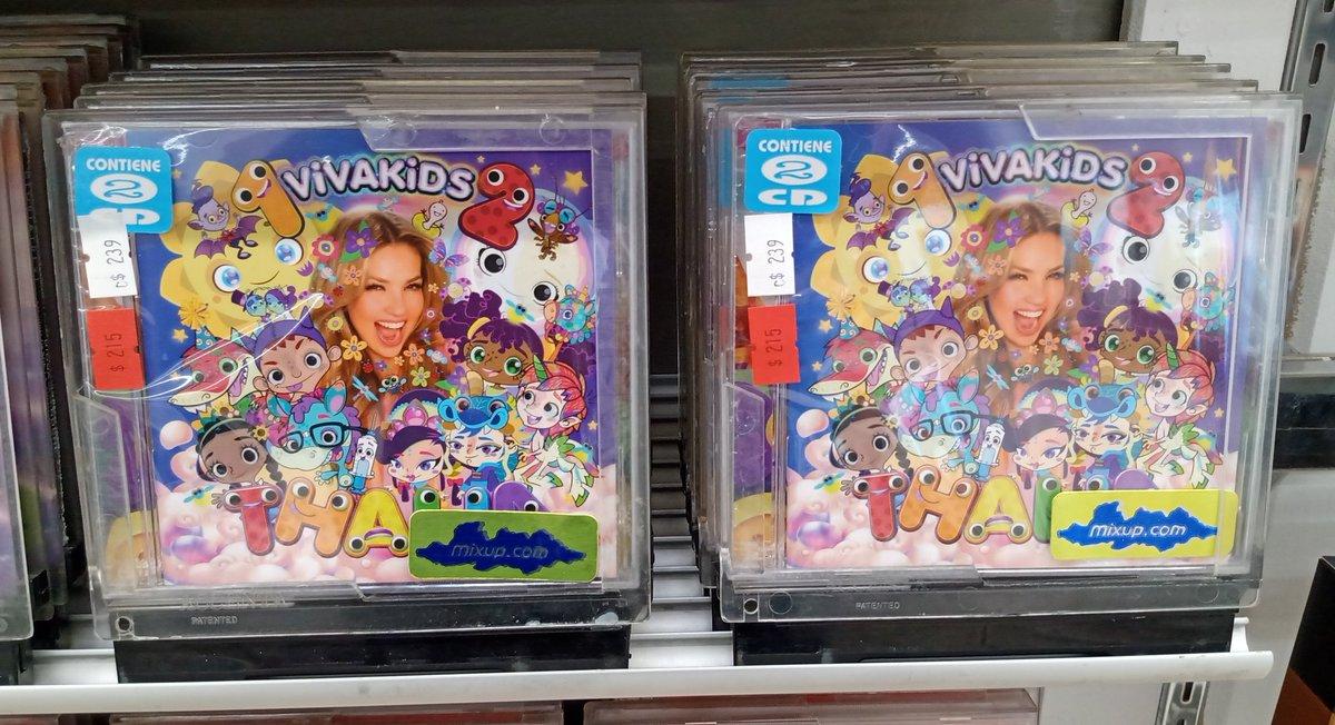 📣📣📣 YA DISPONIBLE en @MixupTeam (#MIXUP) en álbum DOBLE #VivaKids (Vol. 1 y Vol. 2) de @thalia 📣📣📣  @sonymusicmexico   #VivaKids2  #VivaKids
