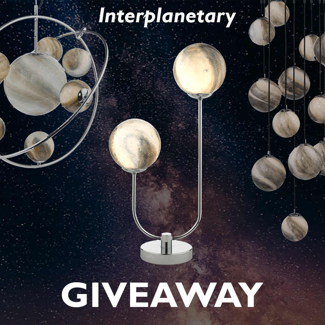 ✨ #WIN ✨ Join us over on our #instagram page for a #freebiefriday #giveaway! A chance to win our stunning Mikara #tablelamp that's out of this world 🚀 CLICK  🚀 Ends Sun 29 Nov at 23h00 GMT 💫  #prize #competitionUK #tadarmoment #brightidea #free #light