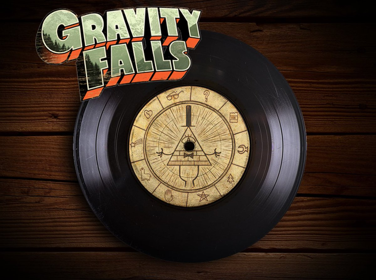 Shhh...don't tell anyone but Gravity Falls has teamed up with @iam8bit & GF composer @bradbreeck to create a ✨Mysterious✨ VINYL RECORD with memories & secrets from the falls 🌲   Pre-order now if you dare...