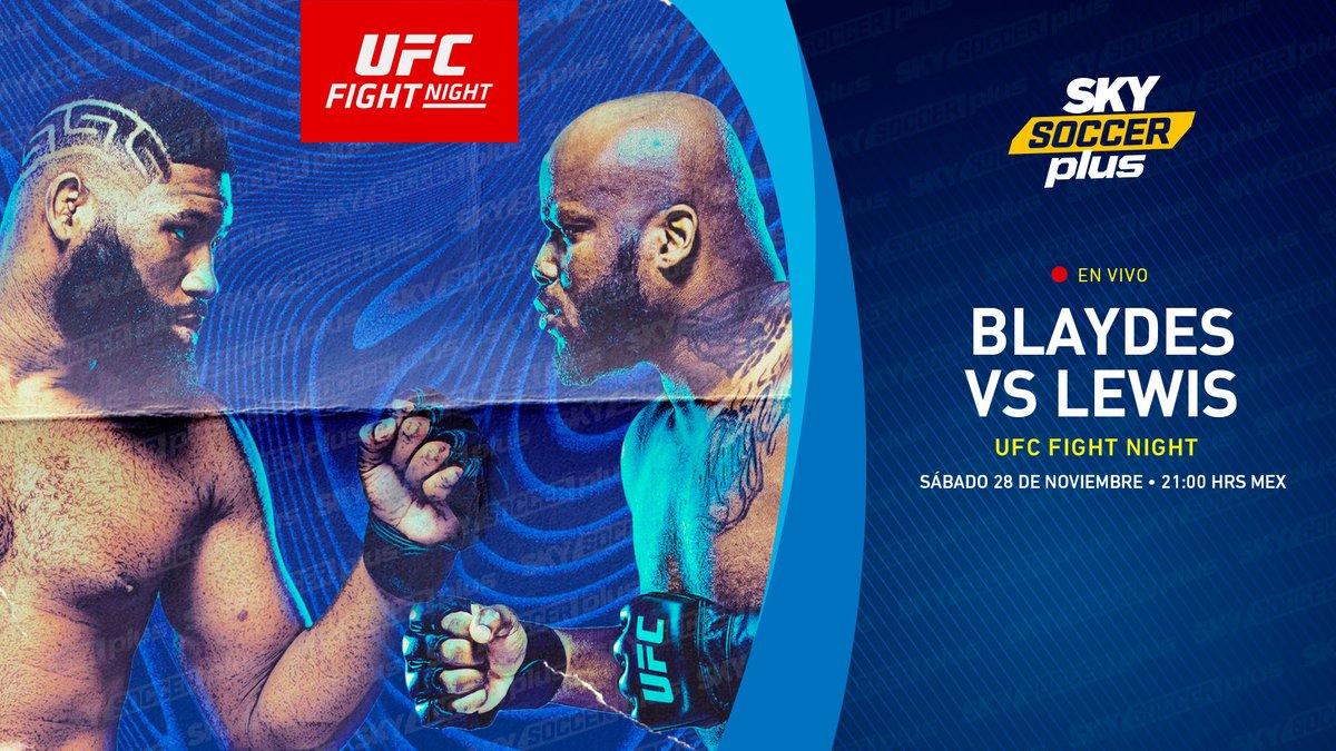 Este #SABADODELUXE sentirás la adrenalina dentro del octágono con la batalla de #UFCVegas15 #Blaydes 🆚 #Lewis 💥👊 a través de #SkySoccerPlus #SkySoccerPlusVenta #UFC255 #UFCFigthNigth Mandame MD para contratar