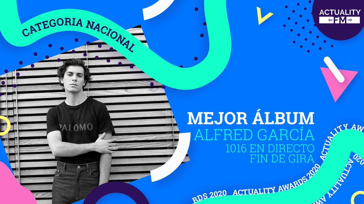 C'est un album d'une qualité musicale extraordinaire sans oublier la partie solidaire 👏🤩😍 Bravo @alfredgarcia et merci 🤍 # 1016EnDirectoFinDeGira #YoMeCorono @ActualityAwards