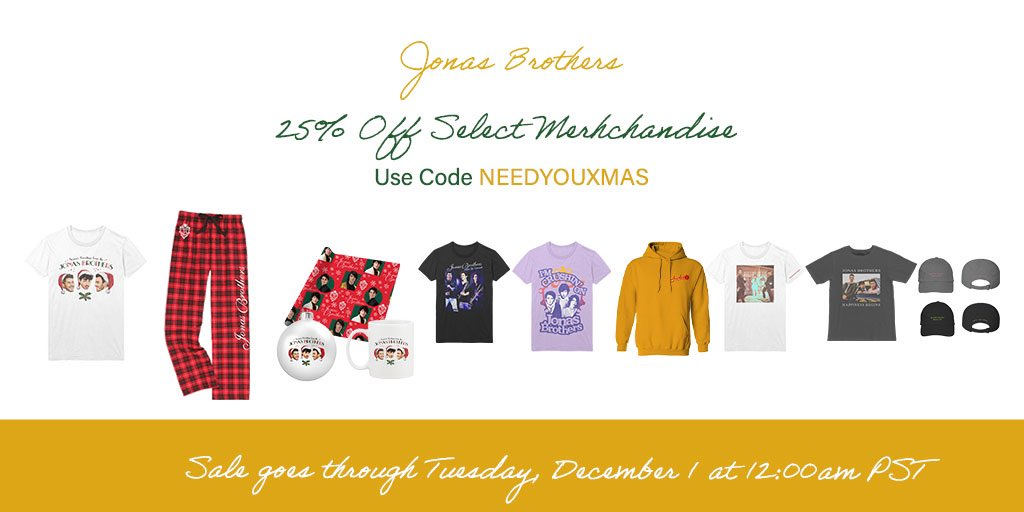 Use code NEEDYOUXMAS in our online shop this weekend for 25% off 🎅🏼🎄 Place your order before the sale ends on December 1st at !
