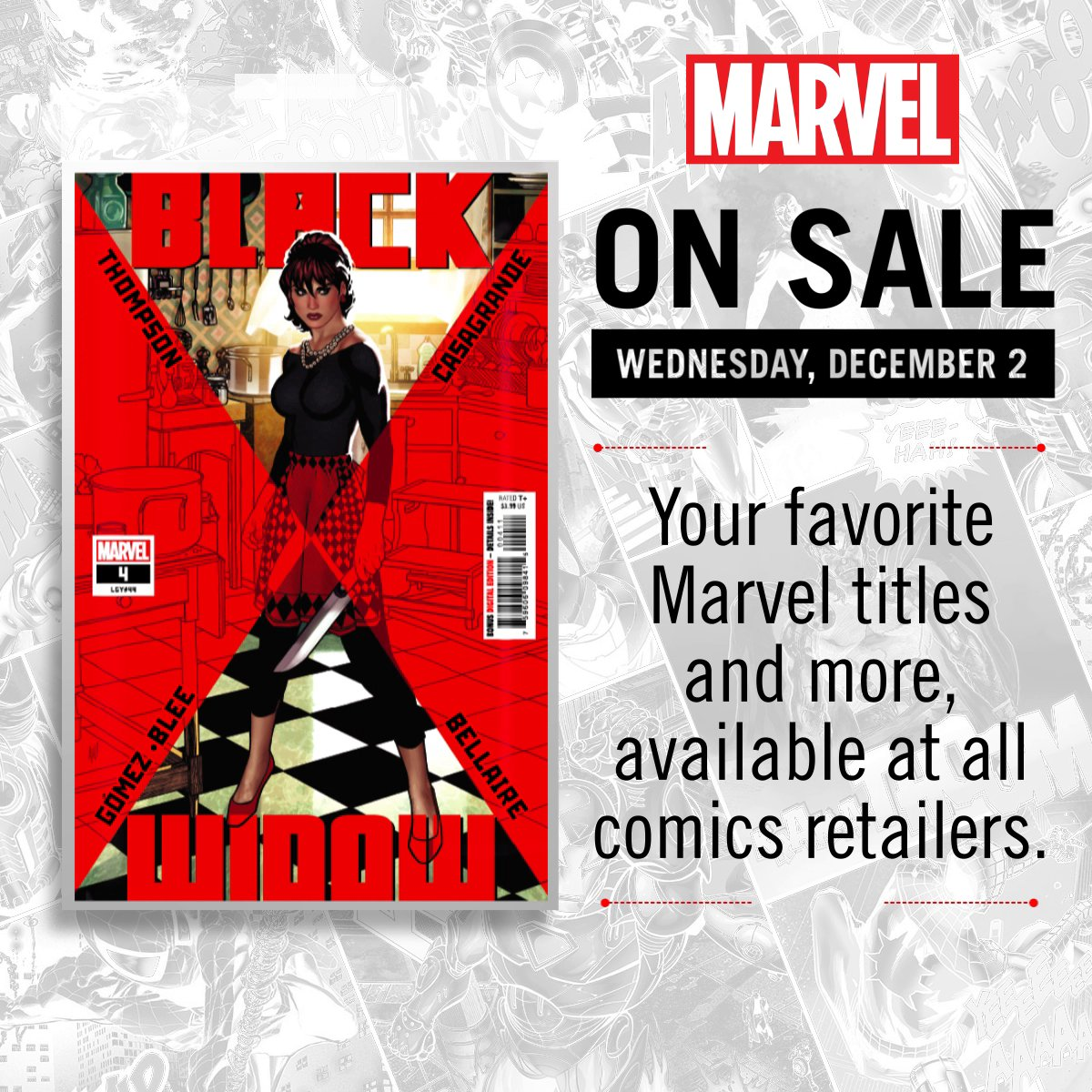 Your look at comics hitting shelves next week! What's at the top of your list?