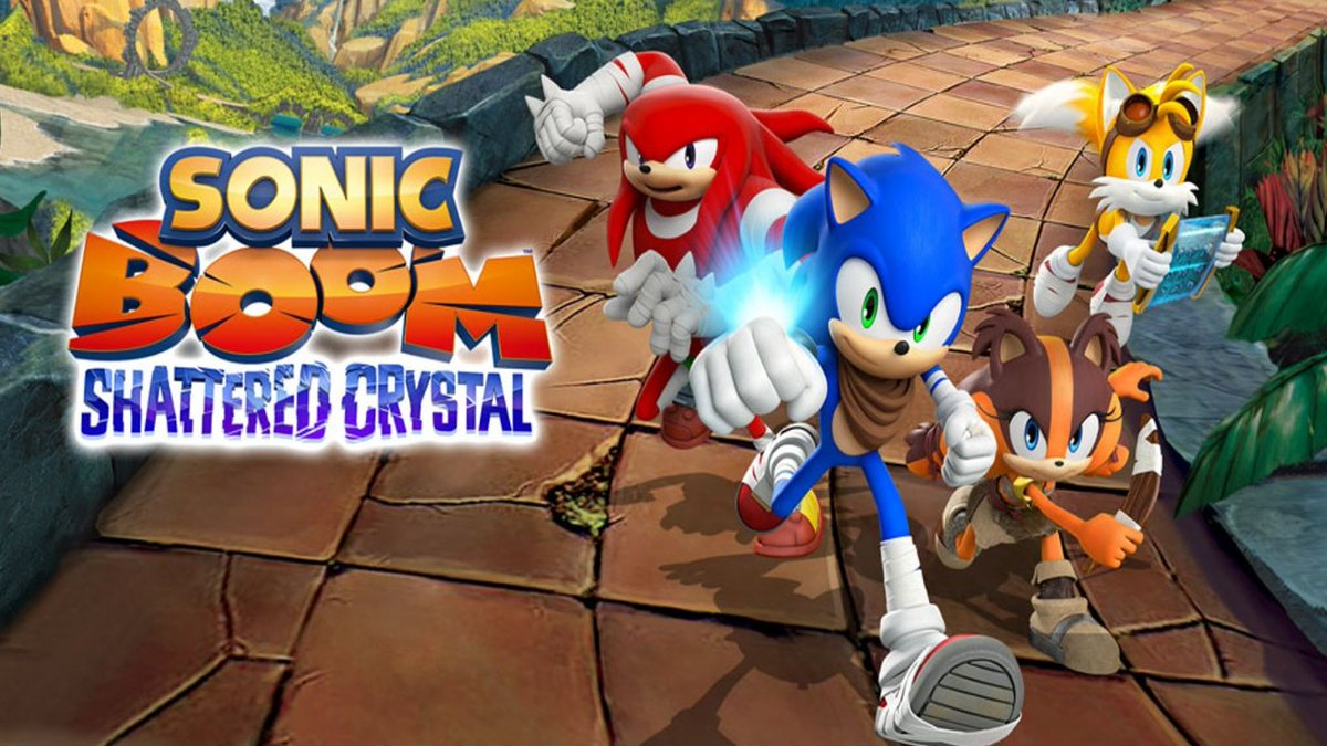 Garrulous64 - I'm playing that not terrible but still not great Sonic Boom game on Twitch right now if you want to see me be totally bored out of my mind