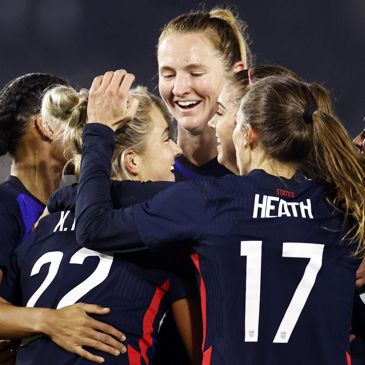 2019: USA 2-0 Netherlands 2020: Netherlands 0-2 USA  @USWNT win the rematch of the World Cup final 👏. #USWNT #NEDUSA