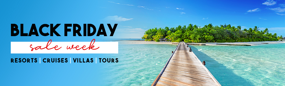 Black Friday Sales Abound ...  https://t.co/XNy4t60jMk #blackfriday #sales #travel #sale #vacation #trips #resorts #cruises #villas #tours #dreamvacations #epikdestinations #adventure .  . https://t.co/gNi1xFWwYP
