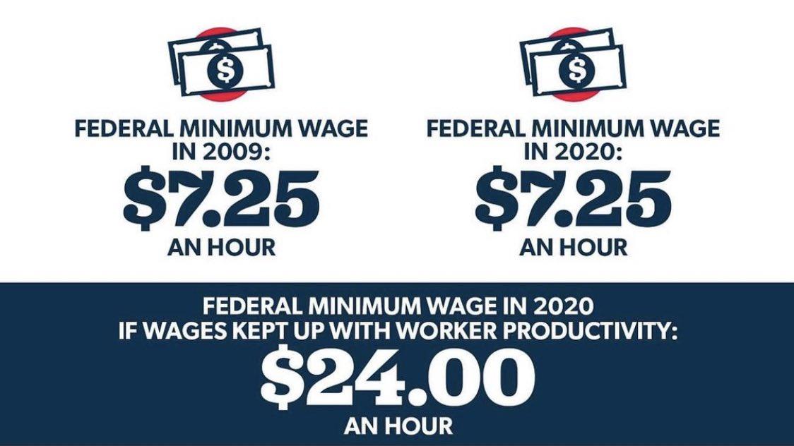 "Mac 🦧 on Twitter: ""make the minimum wage $24 an hour… """