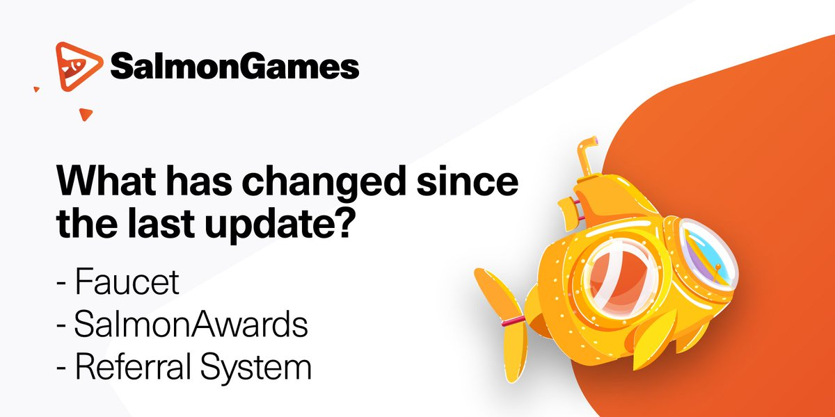 Dear community, we hope that you enjoyed the last updates at Salmon.Games! Still, for those who missed the introduction of the new features, we have prepared a list for you! #SalmonGames #SAN #TRX #PEARL @Tronfoundation @justinsuntron @DeFi_JUST