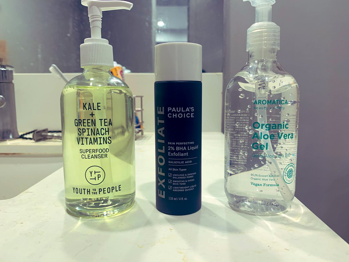 Locodoco - Updated my skincare for 2021  Highly recommend all 3 products to anyone with oily skin type