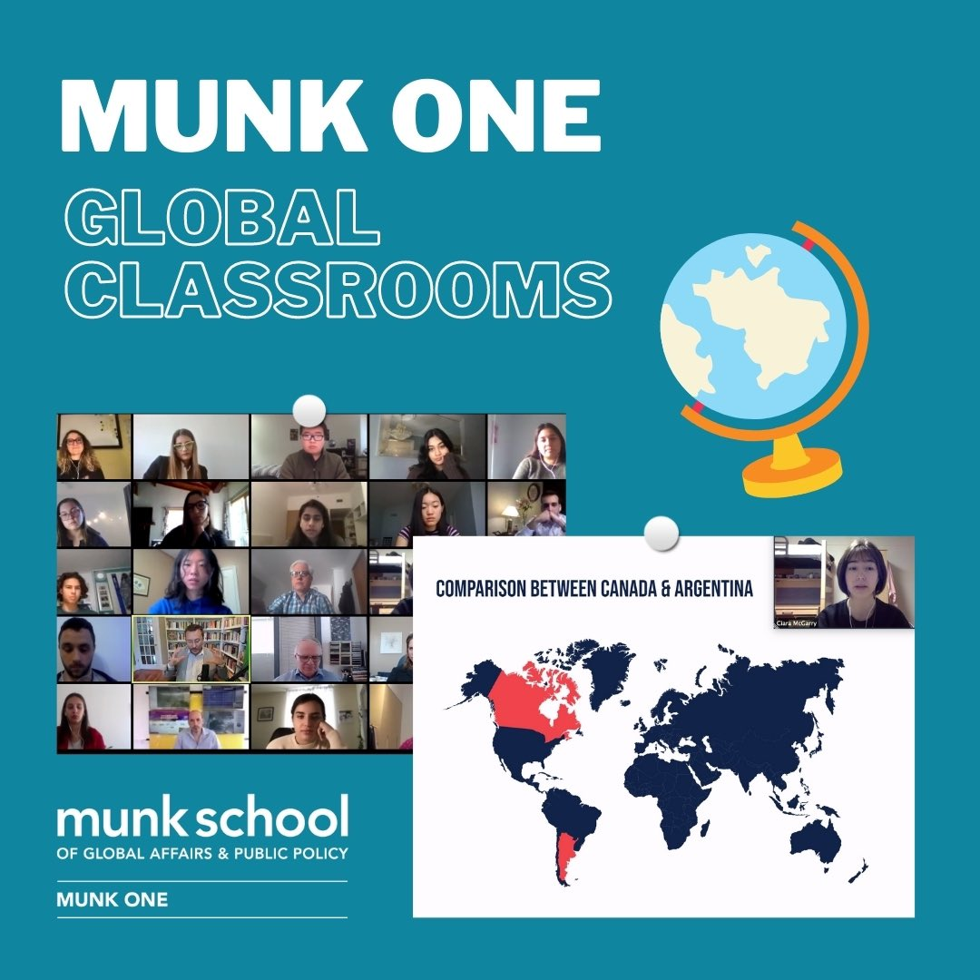 What did our students and professors think of the #globalclassrooms experiences in Munk One this fall? Hear from them directly on our new blog post!    @munkschool @teresakramarz @JosephWongUT @global_uoft @uoft @UofTNews #uoft
