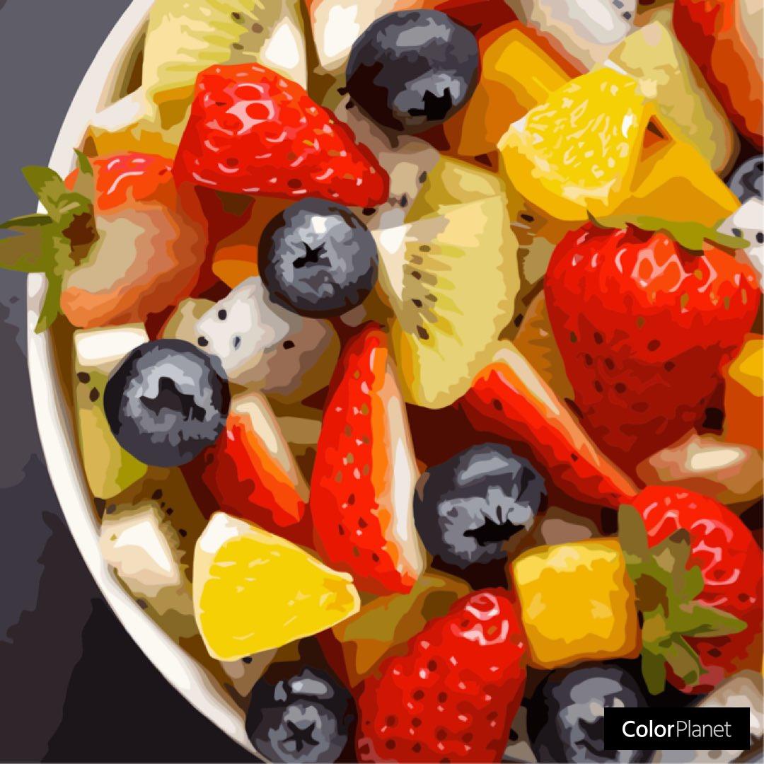 #colorplanet #fruitsalad #strawberry #kiwi #blueberry https://t.co/GtSBtVyVHZ