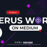 Image for the Tweet beginning: 🔘 Follow #EverusWorld on Medium