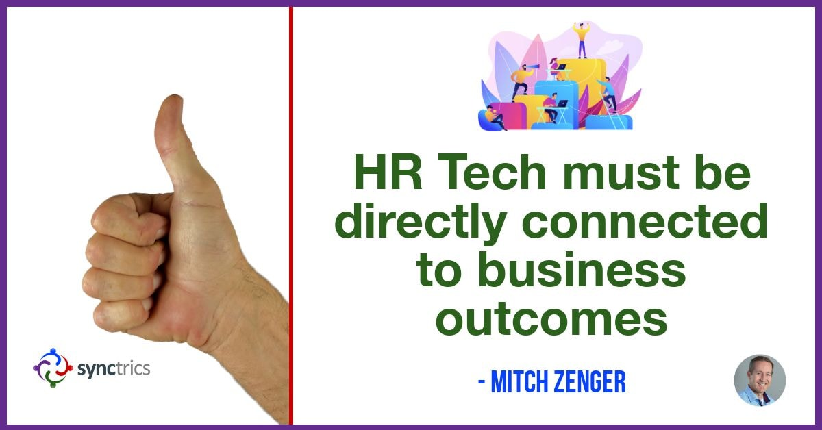Why is it so hard to connect People Analytics data to business outcomes??? We need better HR Tech that connects behavior models and performance models together! @mitchzenger @synctrics  #FutureOfWork #Development #Strengths #Reputation #HRTech #Jobs