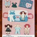 "Image for the Tweet beginning: Mandee's Stuffed ""Paper Dolls"" H-158"