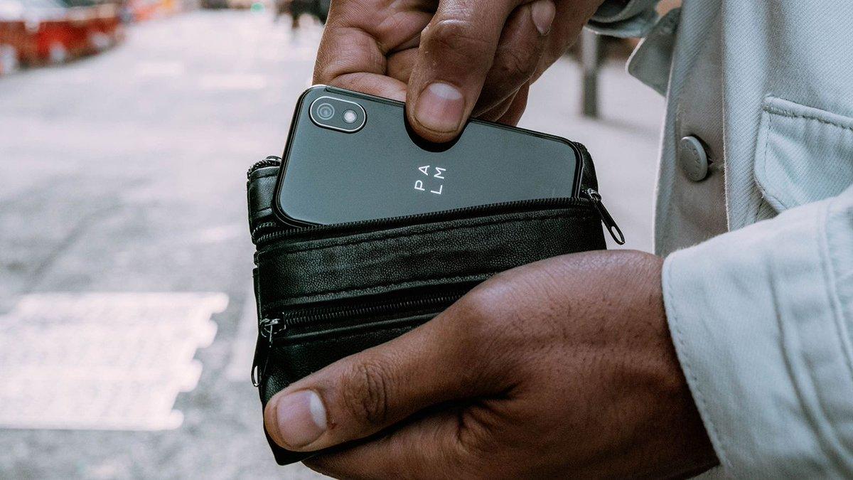 Not many phones can fit in your wallet and in your minimal lifestyle. Shop our one day sale happening now and get the best price for Palm ever.  #PalmPhone #LifeMode #LiveLifeEasy